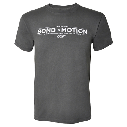 BOND IN MOTION - T SHIRT -£19.99